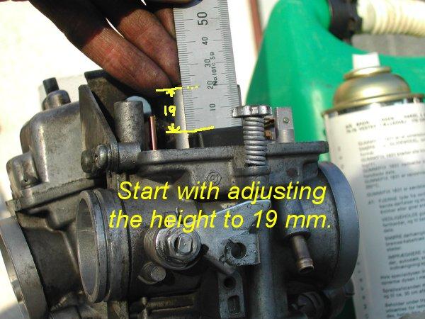 View topic float level adjusting for Yamaha virago 1100 carburetor adjustment