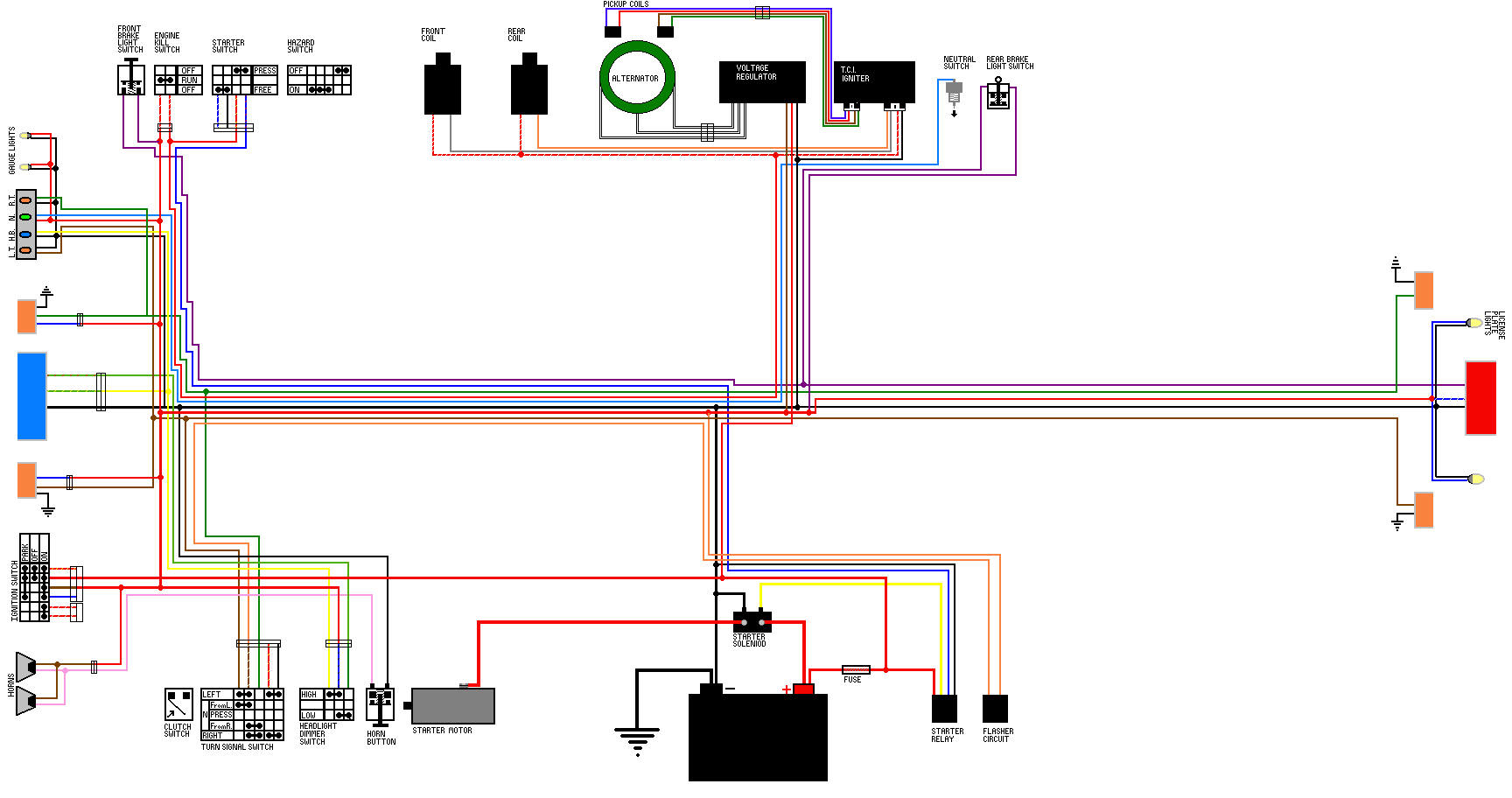 920vgo jpg here is a collection of wiring diagrams i have accumulated threw the years these are virago specific but they can be easily adapted to your needs