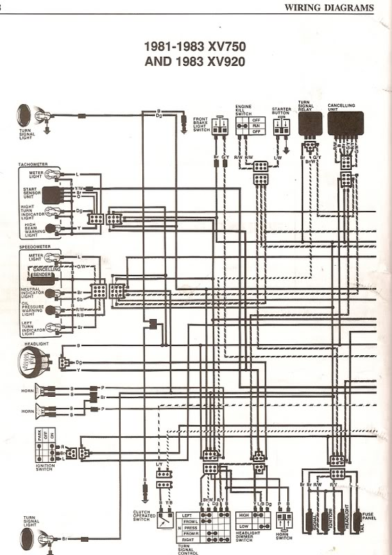 scan0008 wiring diagram 1990 xv750 wiring diagrams best