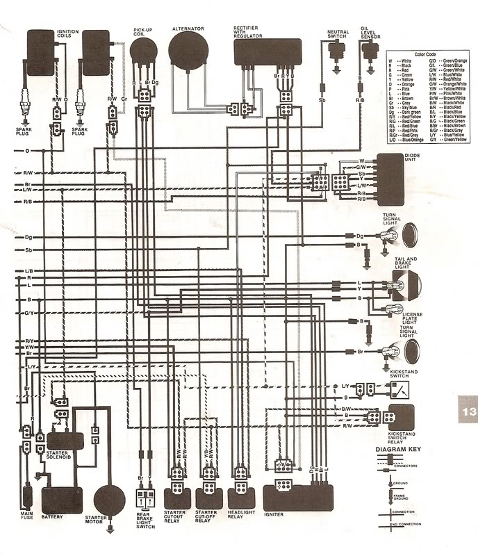 Wiring Diagram Yamaha Virago - Collection Of Wiring Diagram • on virago fuel pump, virago fuel tank, ignition starter switch diagram, virago engine, virago 920 wiring schematic,
