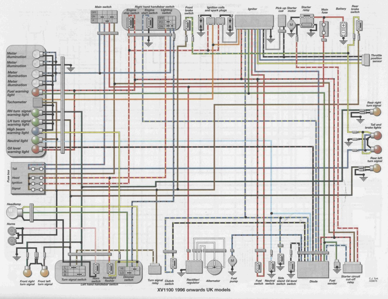 Yamaha Xs850 Wiring Diagram Custom Project 81 Xv700 Get Free Image About